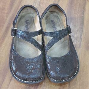 Alegria Jil Brown Mary Jane Shoes